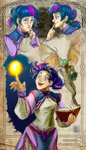 arainmorn crossover humanized imp impified mage owlowiscious the_elder_scrolls twilight_sparkle