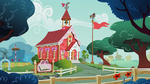 highres ponyville_school scenery school svg tamalesyatole vector