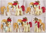 bright_mac buttercupbabyppg flowers hat highres pear_butter photo plushie scarf toy