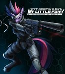 anthro future_twilight gun metal_gear_solid murskme twilight_sparkle weapon