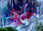 absurdres costume darksly-z highres masked_matterhorn power_ponies princess_twilight twilight_sparkle