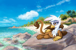 beach gilda kp-shadowsquirrel slacking_is_magic