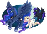 absurdres amazing-artsong bat_pony children_of_the_night filly highres original_character princess_luna