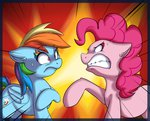 highres pinkie_pie rainbow_dash vicse