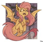 bat_pony flutterbat fluttershy highres shinju-fury