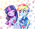 equestria_girls humanized jumblehorse rainbow_dash twilight_sparkle