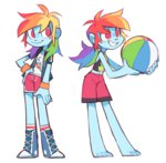 8-xenon-8 equestria_girls highres humanized rainbow_dash