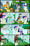 bunny comic falcon ferret fish fish_bowl golden_harvest lyra_heartstrings madmax octavia_melody peacock sweetie_drops vinyl_scratch