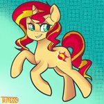 highres smug sunset_shimmer tentacuddles