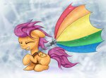 el42 highres scootaloo umbrella xn-dragon