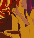 humanized pizzakladd shipping sunlight sunset_shimmer twilight_sparkle
