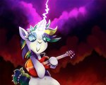 guitar highres magic manecut punk_rarity rarity talonsoficeandfire