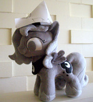 fireflytwinkletoes hat paper_hat photo plushie princess_luna toy woona woonastuck