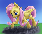 alloyrabbit big fluttershy