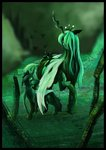absurdres changeling highres queen_chrysalis ssamiki tears