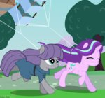 absurdres asika-aida highres kite maud_pie starlight_glimmer