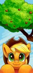 absurdres applejack apples highres tree tsitra360