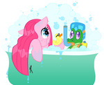 bath gummy highres kishmond littletiger488 pinkie_pie