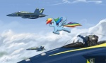 blue_angels jet johnjoseco rainbow_dash