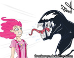 crossover frankaraya humanized marvel_comics pinkie_pie venom