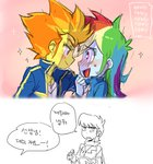 baekgup equestria_girls humanized korean ms_harshwhinny rainbow_dash shipping spitfire translation_request