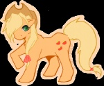 applejack transparent winter-willow