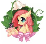butterfly dreamsugar flowers fluttershy highres
