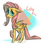 fluttershy highres spacekitsch