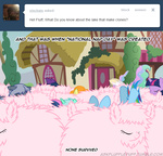 ask askflufflepuff clone fluffle_puff fluffy golden_harvest lyra_heartstrings mare-do-well mixermike622 original_character ponypile princess_celestia rainbow_dash sleeping sweetie_drops twilight_sparkle