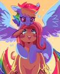 flutterdash fluttershy highres rainbow_dash shipping xishka