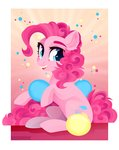 absurdres balloon glastalinka highres pinkie_pie