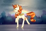 autumn_blaze highres kirin rain staferryarts