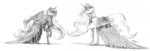 baroncoon dress princess_celestia princess_luna