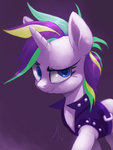 highres manecut punk_rarity raikoh14 rarity