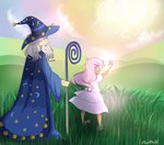 highres humanized princess_celestia silbersternenlicht starswirl_the_bearded young