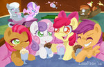 apple_bloom babs_seed button_mash cutie_mark_crusaders diamond_tiara leekfish milkshake scootaloo silver_spoon sweetie_belle