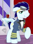 glass goggles highres soarin taharon uniform