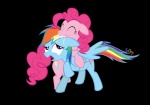 br0ny highres pinkie_pie pun rainbow_dash transparent vector