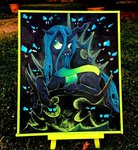 changeling colorsceempainting queen_chrysalis traditional_art