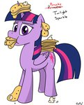 eating highres pancakes princess_twilight rapidstrike twilight_sparkle
