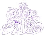 applejack fluttershy jowybean main_six pinkie_pie rainbow_dash rarity twilight_sparkle