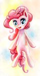 highres pinkie_pie pondisdant watercolor