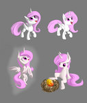 egg filly jaeneth nest phoenix princess_celestia
