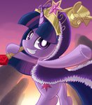 cloak crown ibringthazelc scepter twilight_sparkle twilights_scepter
