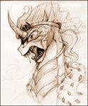 highres king_sombra sketch vongrell