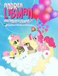 balloon bandage cloud falcon first_aid_kit fluttershy hat helmet pinkie_pie pixelkitties