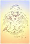 highres rainbow_dash scootaloo sherwoodwhisper traditional_art