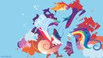 highres rainbow_dash sambaneko wallpaper