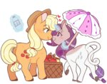 applejack apples doekis magic rarijack rarity shipping umbrella