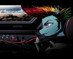 anime anthro car crossover gender_swap manecut rainbow_dash redline